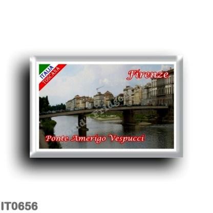 IT0656 Europe - Italy - Tuscany - Florence - Amerigo Vespucci Bridge