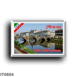 IT0654 Europe - Italy - Tuscany - Florence - Ponte alla Carraia