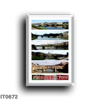 IT0672 Europe - Italy - Tuscany - Florence - bridges - Mosaic