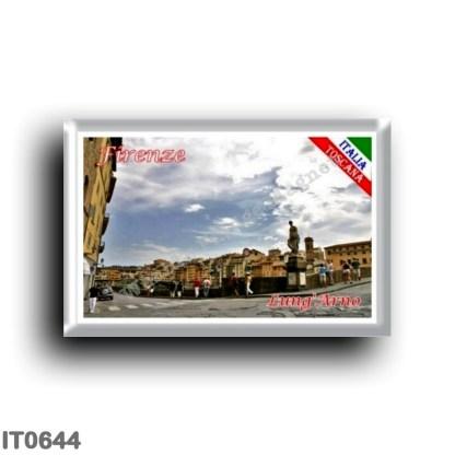 IT0644 Europe - Italy - Tuscany - Florence - Lungarno