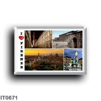 IT0671 Europe - Italy - Tuscany - Florence - Mosaic