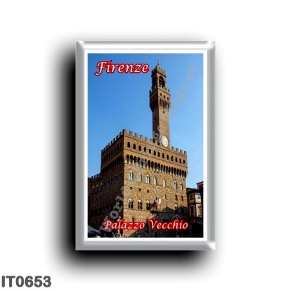 IT0653 Europe - Italy - Tuscany - Florence - Palazzo Vecchio