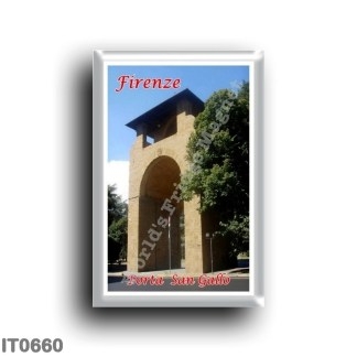 IT0660 Europe - Italy - Tuscany - Florence - Porta San Gallo
