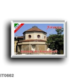 IT0662 Europe - Italy - Tuscany - Florence - Rotonda dei Brunelleschi