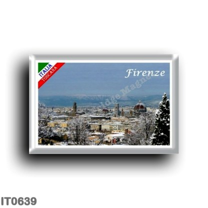 IT0639 Europe - Italy - Tuscany - Florence - Snow covered