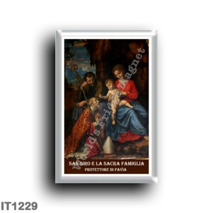 IT1229 Europe - Italy - Lombardy - San Siro and the Holy Family - protector of Pavia