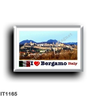 IT1165 Europe - Italy - Lombardy - Bergamo - I Love