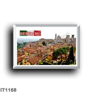 IT1168 Europe - Italy - Lombardy - Bergamo - Panorama