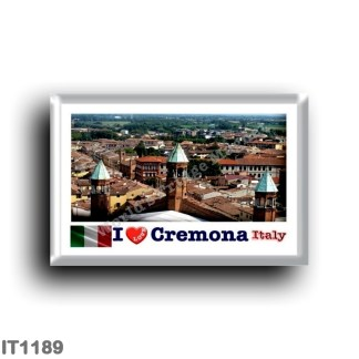 IT1189 Europe - Italy - Lombardy - Cremona - I Love