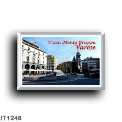 IT1248 Europe - Italy - Lombardy - Varese - piazza Monte Grappa