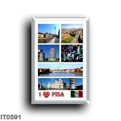 IT0591 Europe - Italy - Tuscany - Pisa - I Love