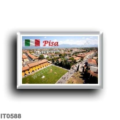 IT0588 Europe - Italy - Tuscany - Pisa - Panorama