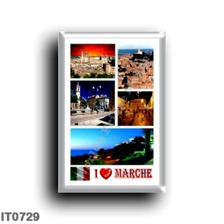 IT0729 Europe - Italy - Marche - I Love