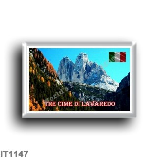 IT1147 Europe - Italy - Trentino Alto Adige - Tre Cime di Lavaredo from Val di Landro