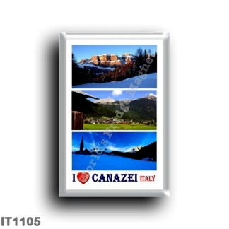 IT1105 Europe - Italy - Trentino Alto Adige - Canazei I Love
