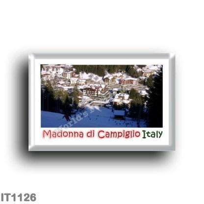 IT1126 Europe - Italy - Trentino Alto Adige - Madonna di Campiglio Panorama