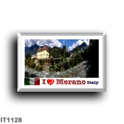 IT1128 Europe - Italy - Trentino Alto Adige - Merano Passirio River - I Love