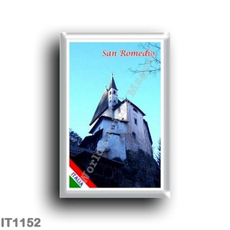 IT1152 Europe - Italy - Trentino Alto Adige - Sanzeno - Sanctuary of San Romedio