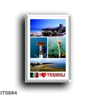 IT0884 Europe - Italy - Molise - Termoli - I Love