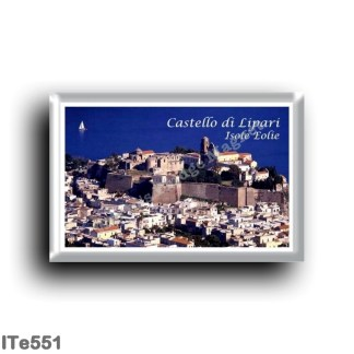 ITe551 Europe - Italy - Aeolian Islands - Lipari - Castle