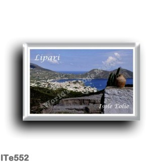 ITe552 Europe - Italy - Aeolian Islands - Lipari - Panorama