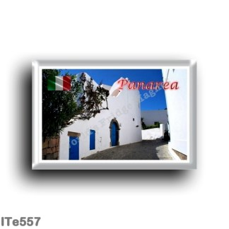 ITe557 Europe - Italy - Aeolian Islands - Panarea - Typical Street