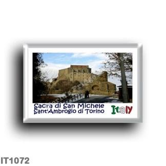 IT1072 Europe - Italy - Piedmont - San'Ambrogio di Torino - Sacra di San Michele