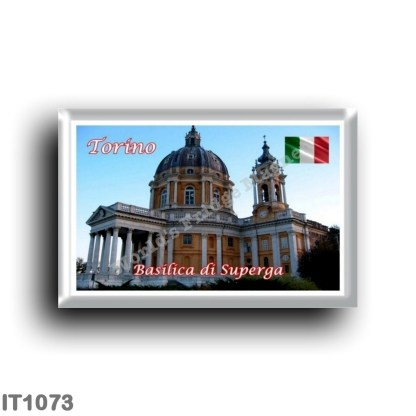 IT1073 Europe - Italy - Piedmont - Turin - Basilica of Superga