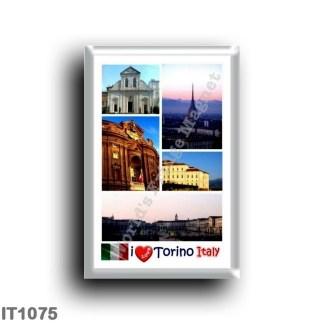 IT1075 Europe - Italy - Piedmont - Turin - I Love