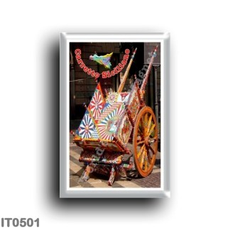 IT0501 Europe - Italy - Sicily - Sicilian cart