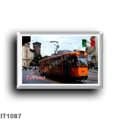 IT1087 Europe - Italy - Piedmont - Turin - Tram