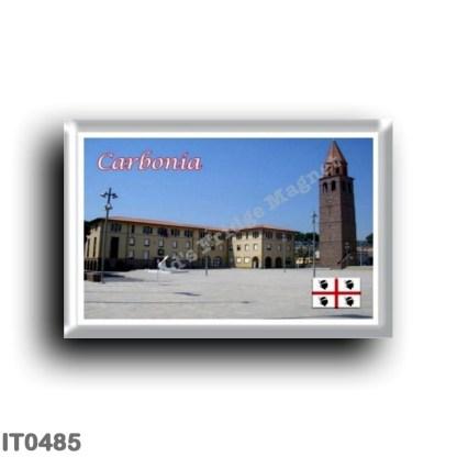 IT0485 Europe - Italy - Sardinia - Carbonia - Piazza Roma