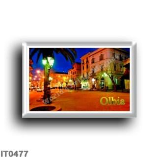 IT0477 Europe - Italy - Sardinia - Olbia - Piazza Regina Margherita