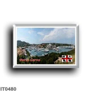 IT0480 Europe - Italy - Sardinia - Porto Cervo - The port