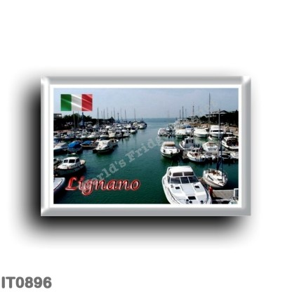 IT0896 Europe - Italy - Friuli Venezia Giulia - Lignano - port