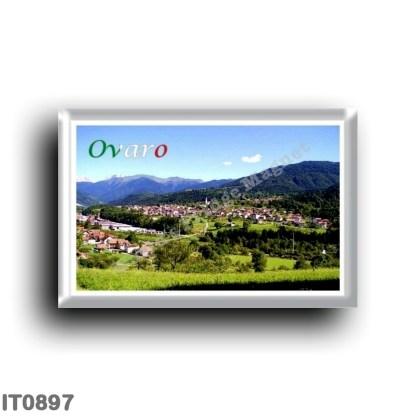 IT0897 Europe - Italy - Friuli Venezia Giulia - Ovaro Panorama
