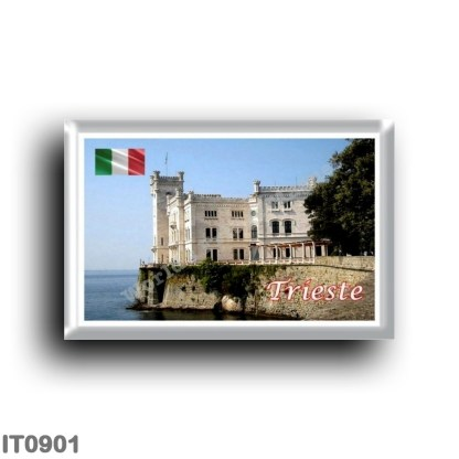 IT0901 Europe - Italy - Friuli Venezia Giulia - Trieste - Miramare Castle