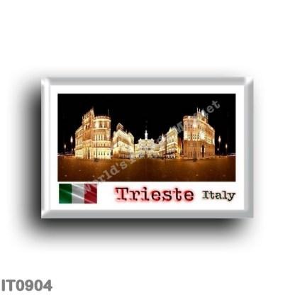 IT0904 Europe - Italy - Friuli Venezia Giulia - Trieste - Piazza Unità d'Italia by Night