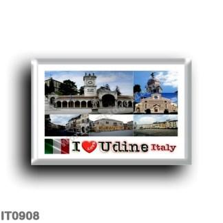 IT0908 Europe - Italy - Friuli Venezia Giulia - Udine - I Love