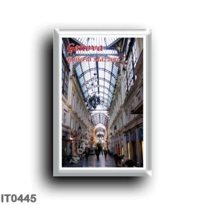 IT0445 Europe - Italy - Liguria - Genoa - Mazzini Gallery