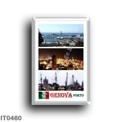 IT0460 Europe - Italy - Liguria - Genoa - Mosaic Porto