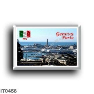 IT0456 Europe - Italy - Liguria - Genoa - Panoramic Port