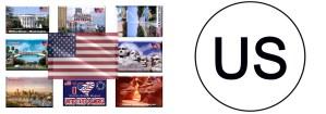 US - United States of America