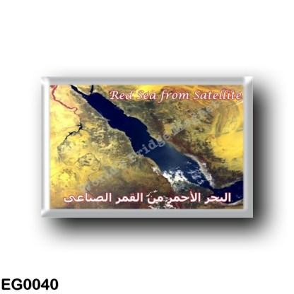 EG0040 Africa - Egypt - Red Sea - Red Sea - Satellite