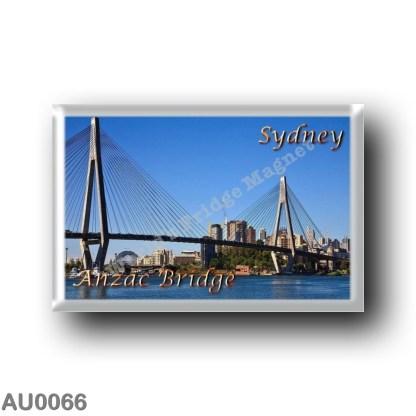 AU0066 Oceania - Australia - Sydney - The ANZAC Bridge