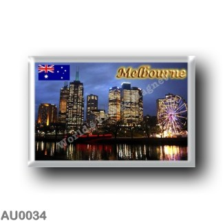 AU0034 Oceania - Australia - Melbourne - City By Night