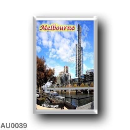 AU0039 Oceania - Australia - Melbourne - Eureka Tower on Yarra
