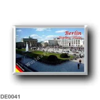 DE0041 Europe - Germany - Berlin - Pariser Platz