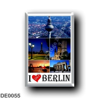 DE0055 Europe - Germany - Berlin - I Love