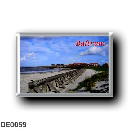 DE0059 Europe - Germany - Friesische Inseln - Frisian Islands - Baltrum - shore